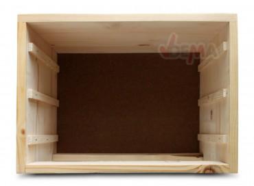 holz schubladenbox schubladen ablagebox holzkiste box 40x30x31cm 40617 ebay. Black Bedroom Furniture Sets. Home Design Ideas