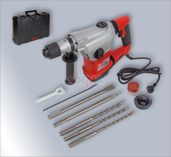 bohrhammer mei elhammer dh 40 1250 w 10 joule sds max neu. Black Bedroom Furniture Sets. Home Design Ideas