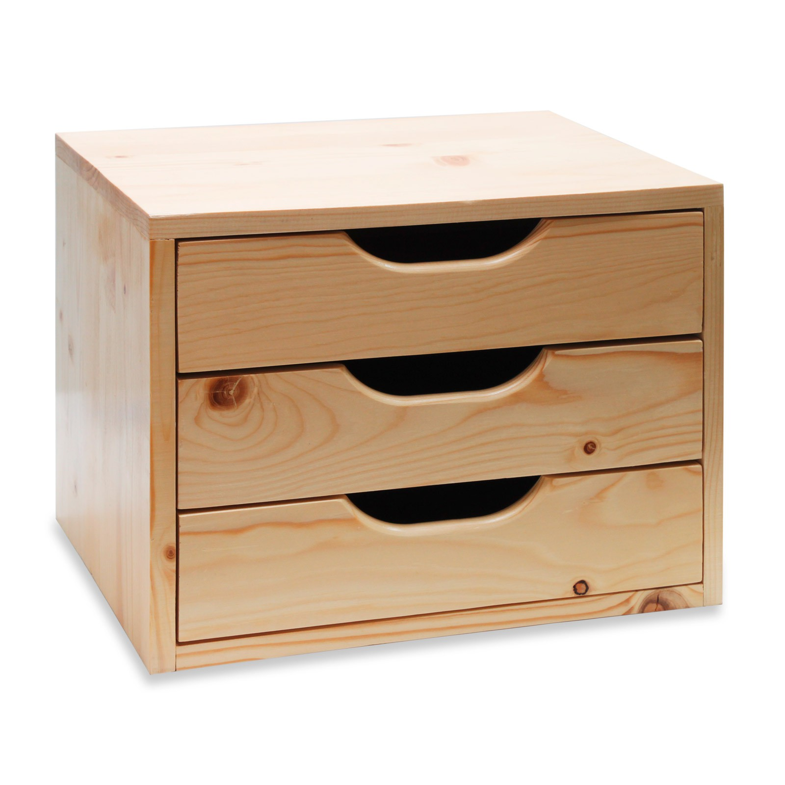 holz schubladenbox schubladen ablagebox holzkiste box 40x30x31cm 40617 ebay. Black Bedroom Furniture Sets. Home Design Ideas